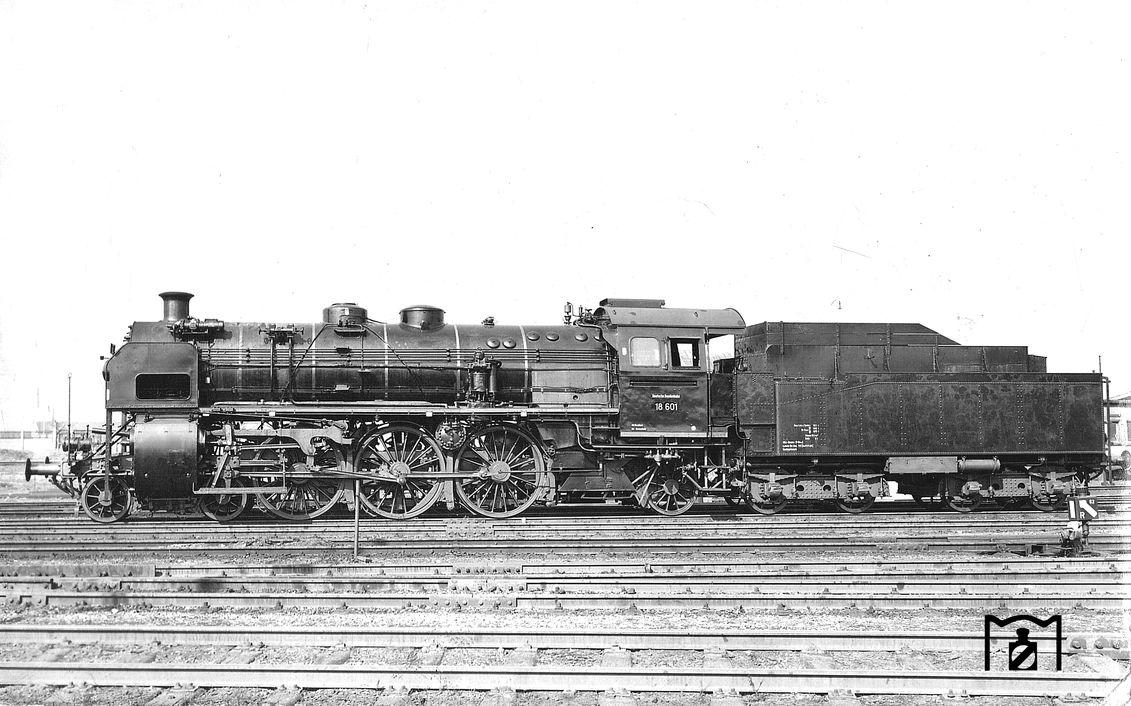 18 521 ,neue Betriebsnummer 18 601 (1953) Foto: Carl Bellingrodt Bildlink: Eisenbahnstiftung