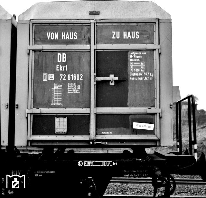 BTms55 mit Ekrt Foto Johannes Glöckner 1955 Bildlink: Eisenbahnstiftung Joachim Schmidt