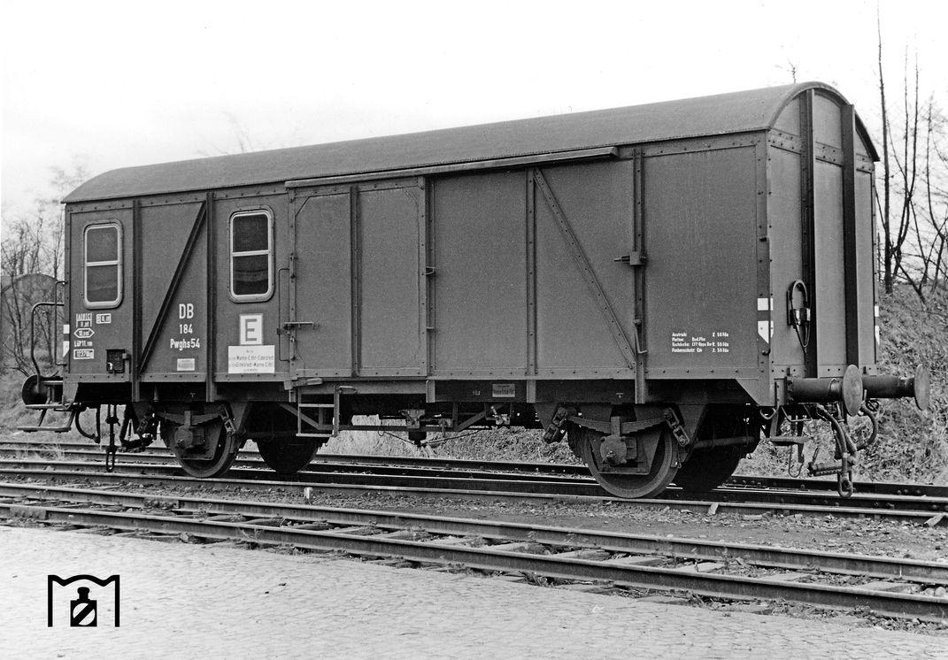 Pwghs-54 (Prototyp) Foto: Bustorff (1956) Bildlink: Eisenbahnstiftung