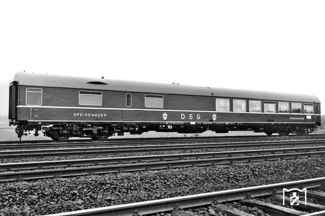 WRümh der DSG 1966 Foto: Grand Bildlink: eisenbahnstiftung