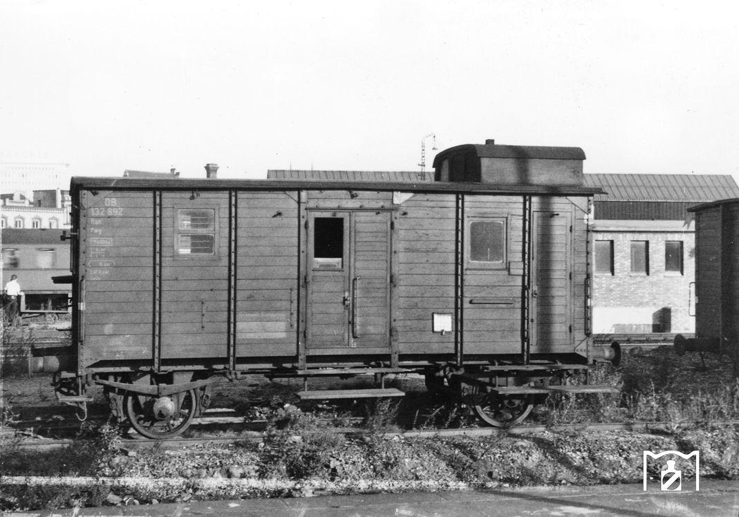 Pwg bay 13 nach Musterblatt 62, Foto: Joachim Claus 1960 Bildlink: Eisenbahnstiftung