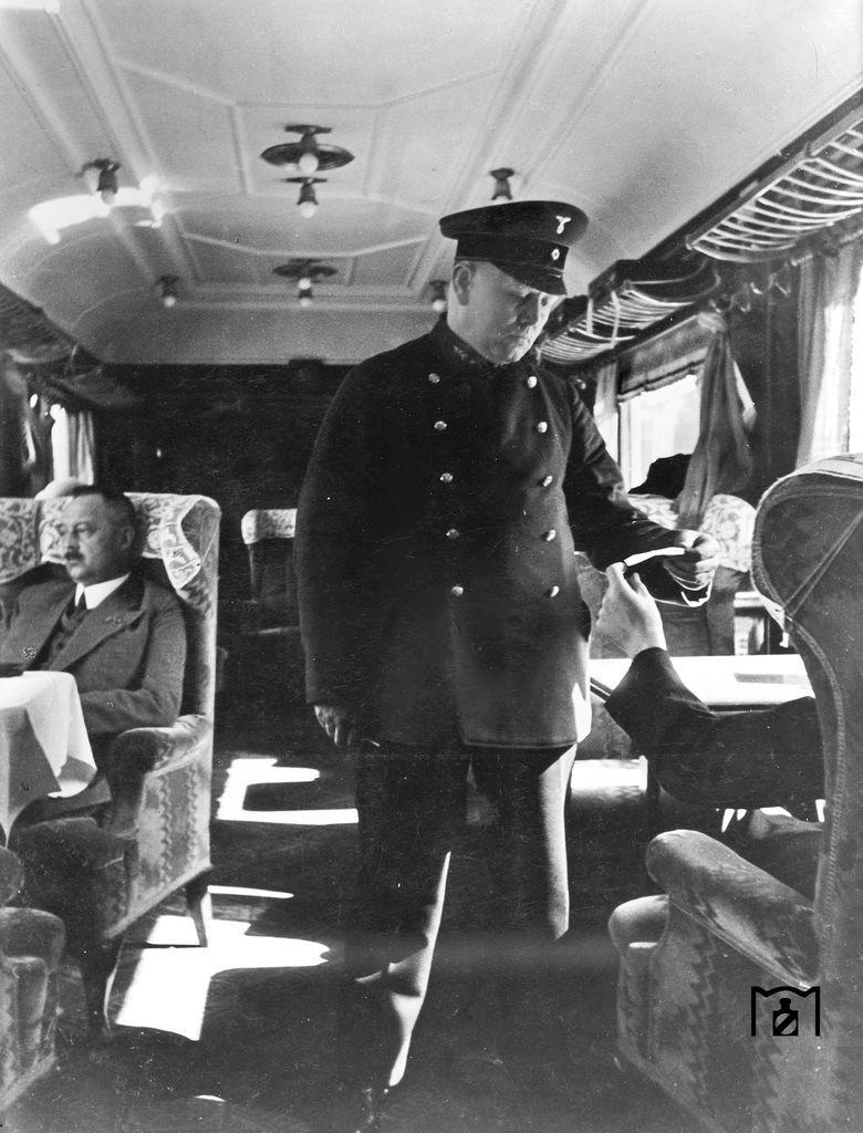 Die 1. Klasse im RHEINGOLD Foto: RVM 1937 Link: www.eisenbahnstiftung.de