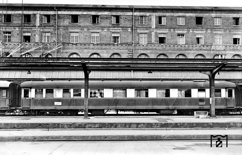SA4ük 10 507 in einem USATC-Zug 1949 Foto: C. Bellingrodt Link: www.eisenbahnstiftung.de