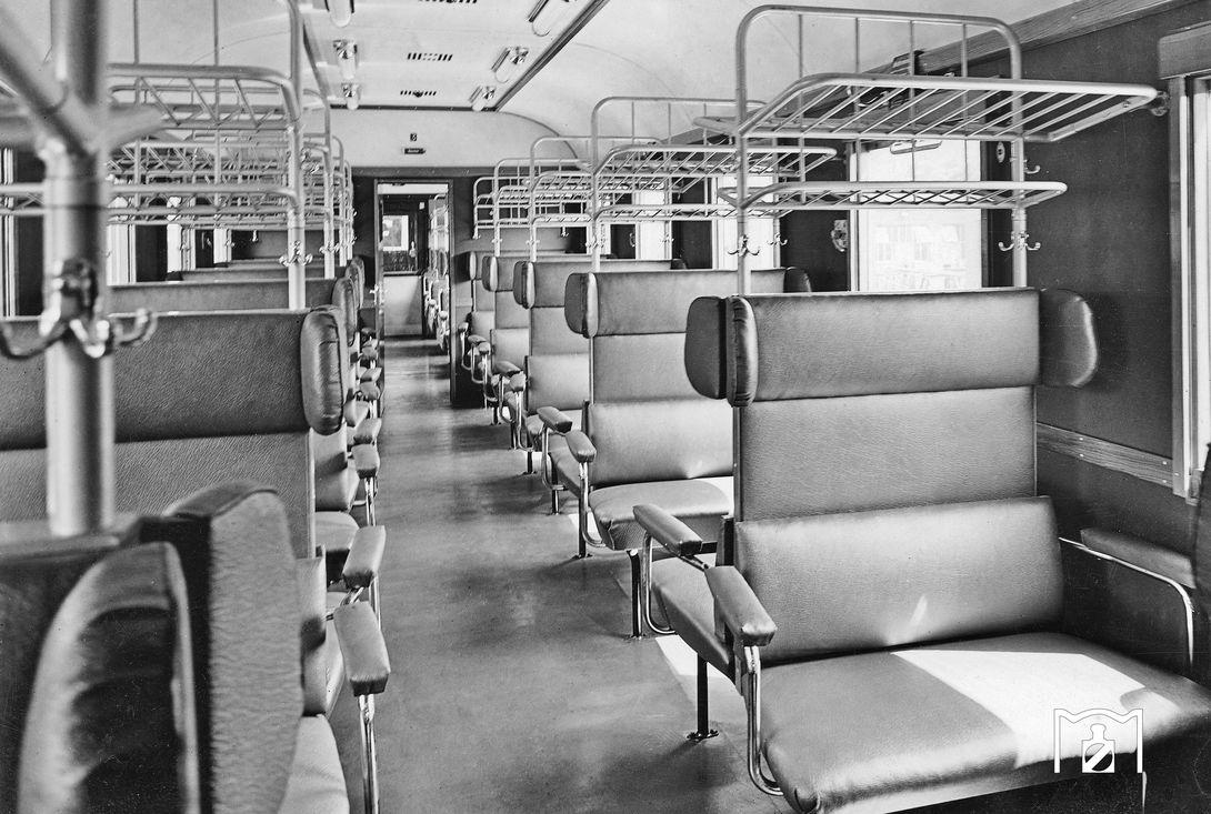 3.-Klasse-Bereich IDA-Umbau (Fotolink: Eisenbahnstiftung, Foto Werksfoto Scheying)