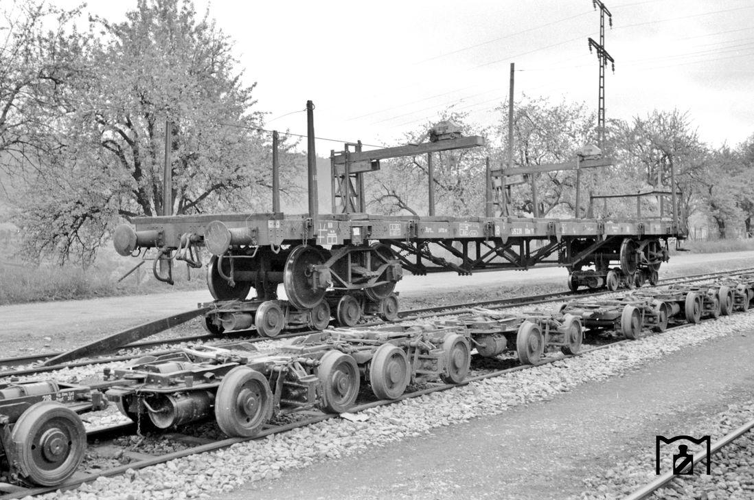 TP SSk der DB in Nagold 1.6.1961 Gerd Wolff - Bildlink: eisenbahnstiftung.de