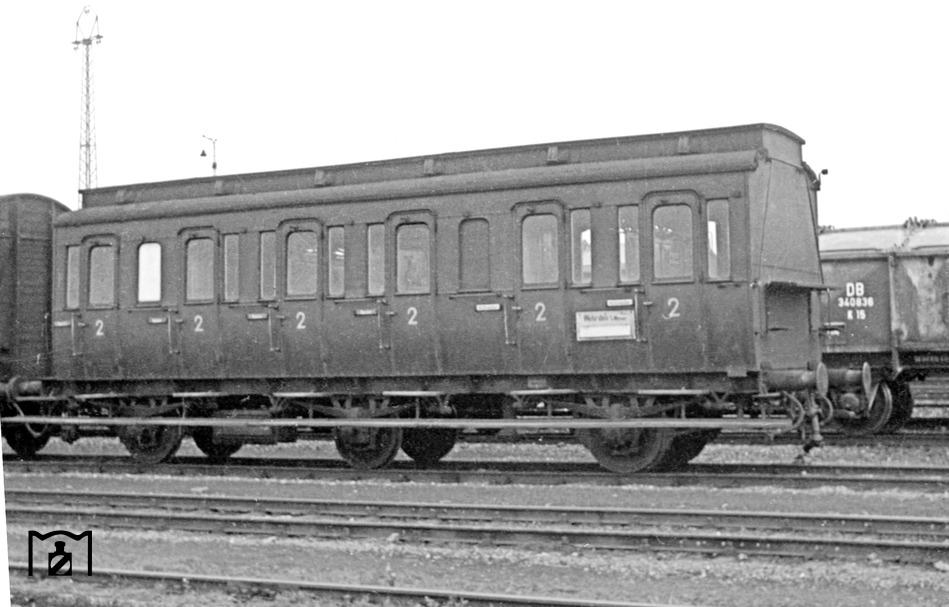 B3pr DB 1958 Foto: Reinhard Todt/Weblink Eisenbahnstiftung