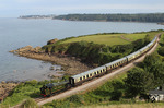 "Einen fantastischen Blick auf die englische Kanalküste bietet die Museumsbahn der ""Paignton and Dartmouth Steam Railway"" bei Paignton Saltern Cove. (22.08.2011) <i>Foto: Joachim Bügel</i>"
