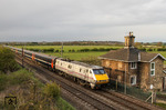 East Coast High Speed Train 91110 nördlich Redford in Nottinghamshire. (13.04.2012) <i>Foto: Joachim Bügel</i>